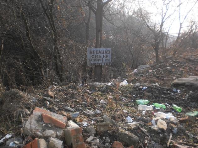 Призор из Србије, жалосно, Зуква,