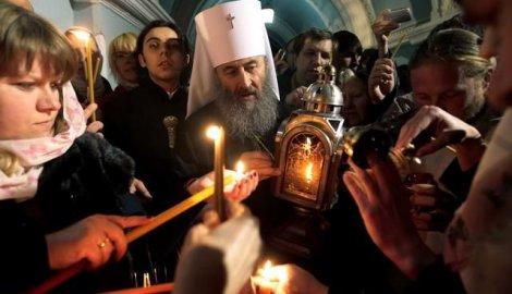 Благодетни огањ стиже из Јесрусалима у Београд...
